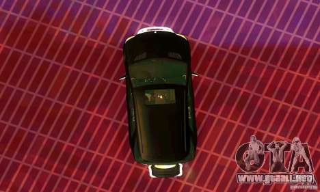 Mercedes-Benz ML500 para GTA San Andreas vista posterior izquierda
