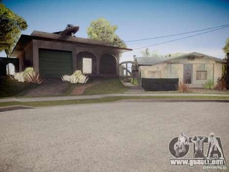 Hybrid ENB Series para GTA San Andreas sexta pantalla