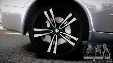 BMW X5M Chrome para GTA motor 4