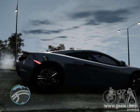 McLaren MP4-12C [EPM] 2011 para GTA 4 visión correcta