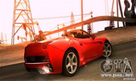 Ferrari California V3 para GTA San Andreas left