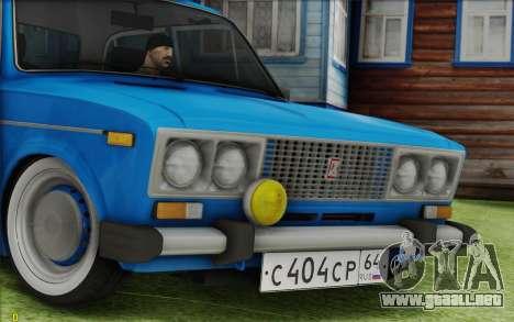 Retro 2106 VAZ para la visión correcta GTA San Andreas