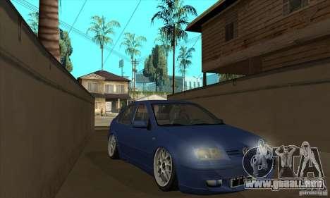 VW Bora VR6 Street Style para GTA San Andreas vista hacia atrás