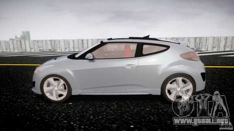 Hyundai Veloster Turbo 2012 para GTA 4 vista interior