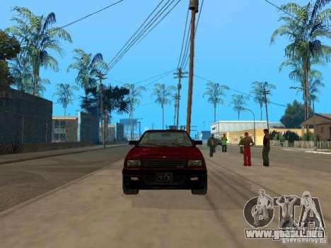 Blista From GTA IV para GTA San Andreas left