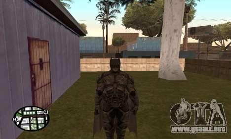 Dark Knight Skin Pack para GTA San Andreas sexta pantalla