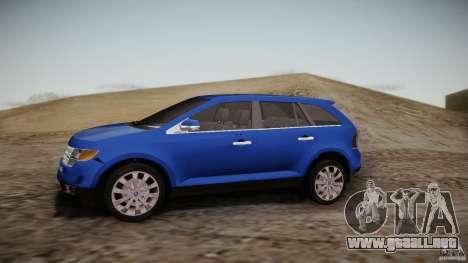Ford Edge 2010 para GTA San Andreas left