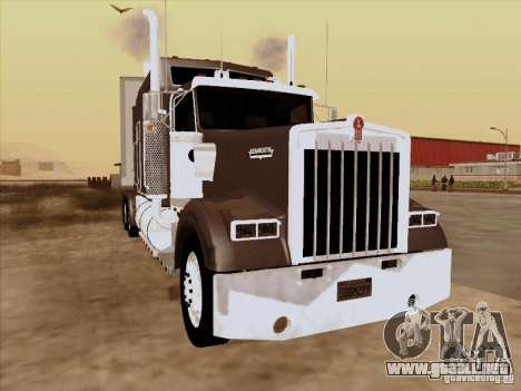 Kenworth W900 Long para GTA San Andreas left