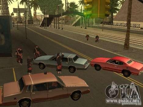 The Akatsuki gang para GTA San Andreas segunda pantalla