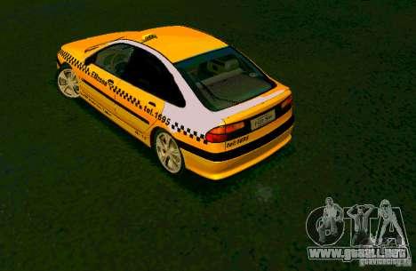 Renault Megane Taksi para GTA San Andreas left