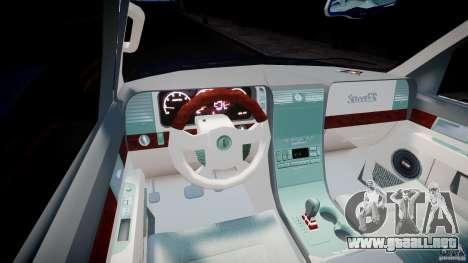 Lincoln Navigator 2004 para GTA 4 vista hacia atrás