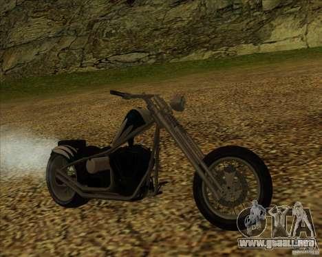 Hexer bike para GTA San Andreas