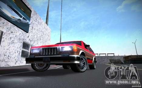 Luces HD para GTA San Andreas segunda pantalla