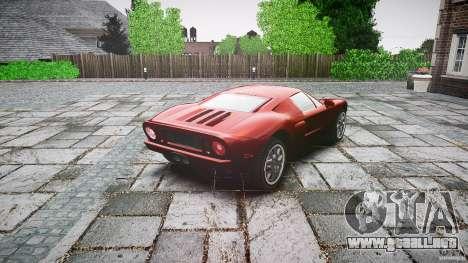 Ford GT para GTA 4 vista lateral