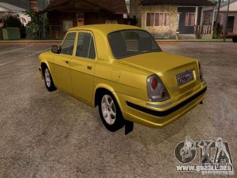 Volga GAZ 31107 para la visión correcta GTA San Andreas