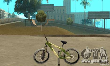 Hardy 3 Dirt Bike para GTA San Andreas left