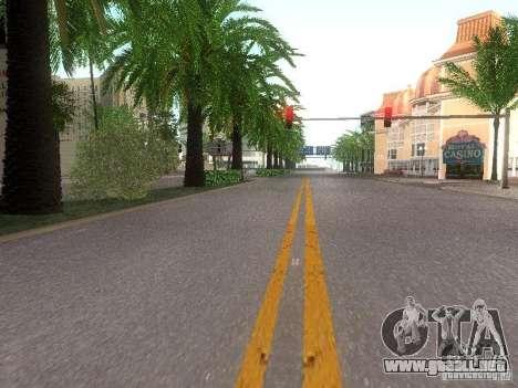 Modification Of The Road para GTA San Andreas quinta pantalla