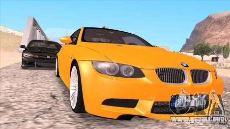 BMW M3 E92 para las ruedas de GTA San Andreas
