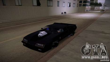 Ford Falcon GT Pursuit Special V8 Interceptor 79 para GTA Vice City vista interior