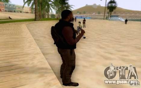Salazar en el civil para GTA San Andreas segunda pantalla