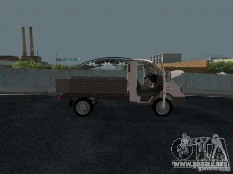 A bordo del GAS Sable 2310 para la visión correcta GTA San Andreas