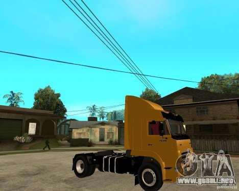 KAMAZ 5460M TAI versión 1.5 para la visión correcta GTA San Andreas