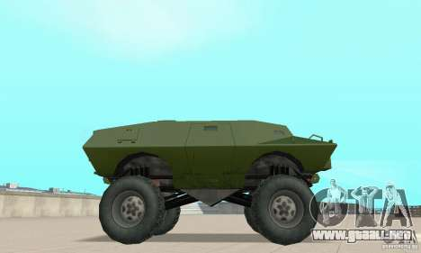 Trail Monster V.1.0 para la visión correcta GTA San Andreas