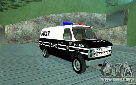 Chevrolet G20 Enforcer para GTA San Andreas
