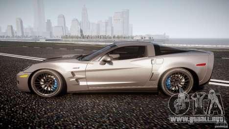 Chevrolet Corvette ZR1 2009 v1.2 para GTA 4 left