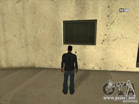 Agujeros de las balas para GTA San Andreas tercera pantalla