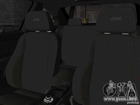BMW 1M Coupe RHD para GTA Vice City vista posterior