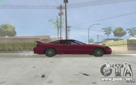 New Alpha para GTA San Andreas vista posterior izquierda