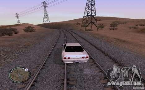 Rieles rusos para GTA San Andreas séptima pantalla