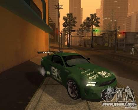 Ford Mustang GT-R 2010 para la visión correcta GTA San Andreas