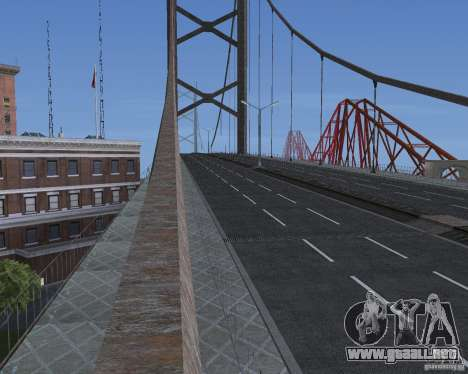 Nuevas texturas de tres puentes en SF para GTA San Andreas séptima pantalla