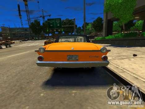 Dodge Dart para GTA 4 Vista posterior izquierda