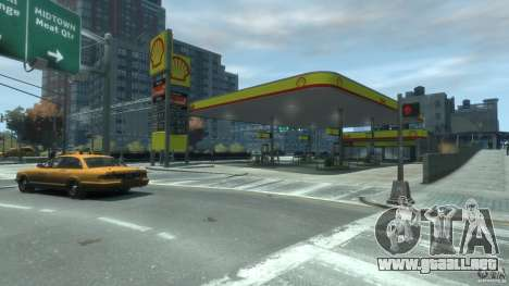 Shell Petrol Station V2 Updated para GTA 4 segundos de pantalla