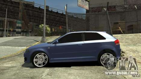 Audi S3 2006 v1.1 tonirovanaâ para GTA 4 left