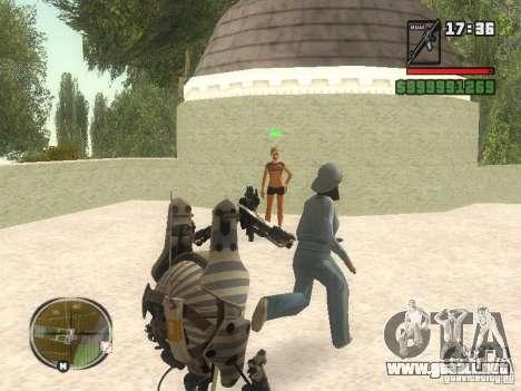 Robot de Portal 2 # 1 para GTA San Andreas sucesivamente de pantalla