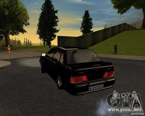 TJK VAZ 2115 para GTA San Andreas left