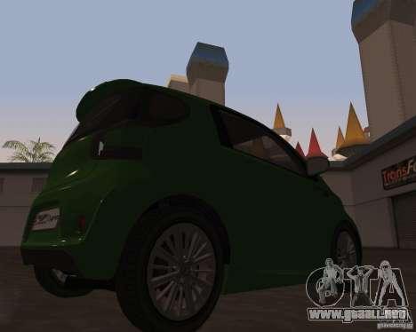 Aston Martin Cygnet Concept 2009 V1.0 para GTA San Andreas left