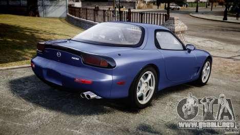 Mazda RX-7 1997 v1.0 [EPM] para GTA 4 Vista posterior izquierda