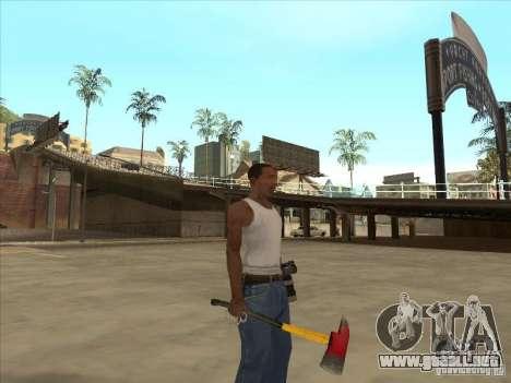 Un hacha de la Killing Floor para GTA San Andreas segunda pantalla