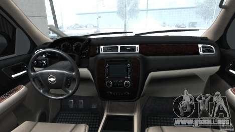 Chevrolet Tahoe 2007 para GTA 4 visión correcta