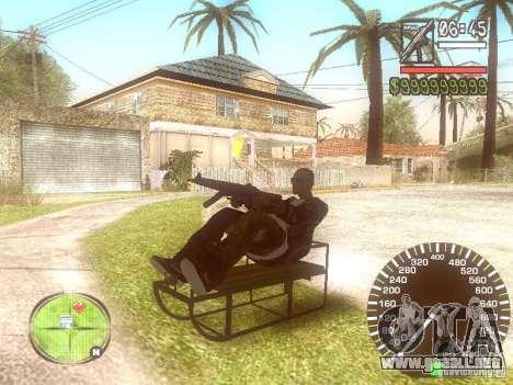 Sani para GTA San Andreas vista hacia atrás