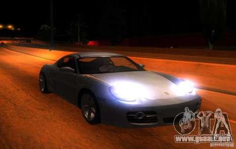 Porsche Cayman S para visión interna GTA San Andreas