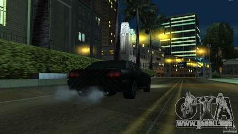 Elegy Carbon Style V 1.00 para GTA San Andreas vista posterior izquierda