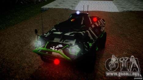 Monster APC para GTA 4 visión correcta