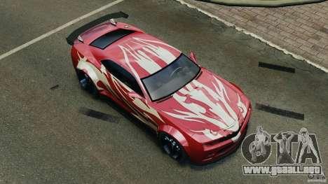 Chevrolet Camaro SS EmreAKIN Edition para GTA 4 ruedas