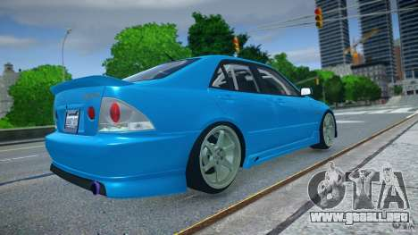 Toyota Altezza para GTA 4 left